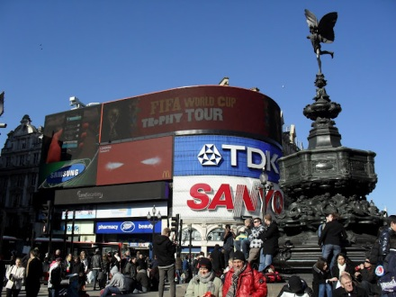 Luke Cusack - Piccadilly Circus, London (2010)